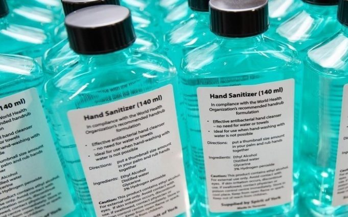How to make your own local Hand Sanitizer in one step