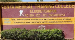 Eldoret KMTC Branch-History, Location, Administration, Intake and Contacts