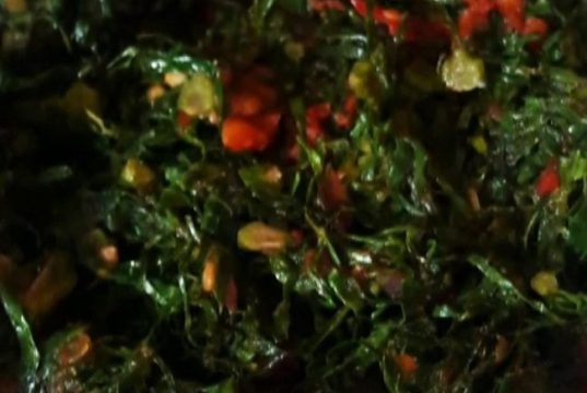How to cook kales (Sukuma wiki) for the ulcer patients