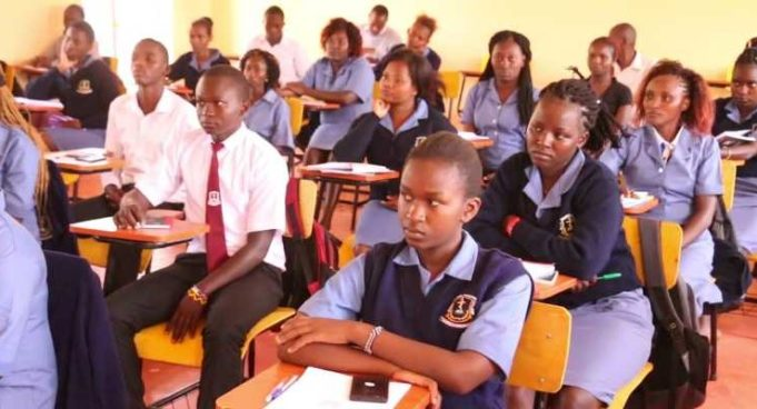 A list of KMTC Diploma courses