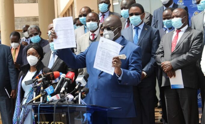 Magoha Settles On January 4th Reopening as TSC Tells Aged Teachers To Stay ay Home