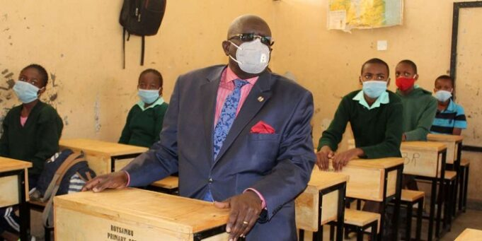 We Are in Short of 1M Masks To Give To Needy Children: Magoha