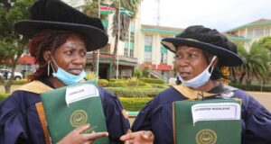 Joy As Mother and daughter graduate with PhDs on the Same day