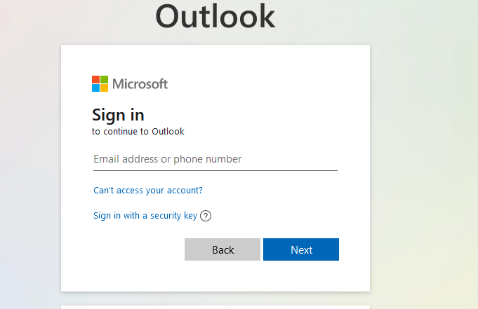 How to reset your outlook365 email password if you forget