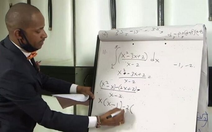 Top KCSE candidate Attributes Maths, Chemistry A's To Babu Owino's Online Classes