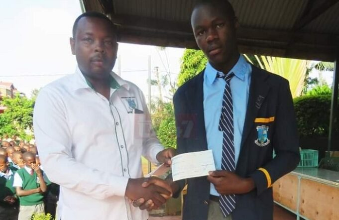 A School Awards Top Candidate Ksh. 650,000 And A Car